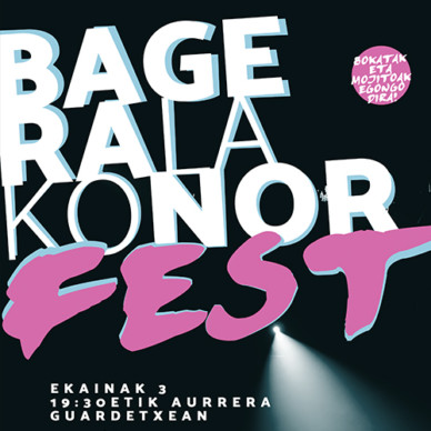 Bageralako nor fest!